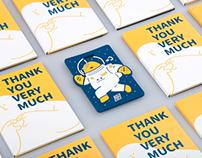 訂閱式鍵盤革命|集資支持者感謝函與紀念卡套 | Thank you very much