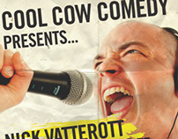 Rebrand: Cool Cow Comedy