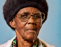 One with South Africa // Elder people portraits