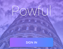 Animation Powful Login Screens