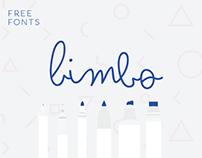 Bimbo free type family - 6 weights of monoline fun