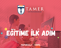 Tamer Okulları - Anaokulu ve Kreş - Broşür