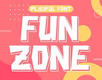 Free Fun Zone Display Font