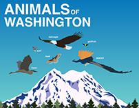 Animals of Washington