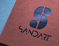Sand'Art Création & Co Logo Design Process | Mockups