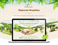 Разработка интернет-магазина Фермерских продуктов.