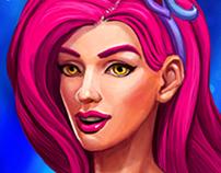 Icon-art Mermaid