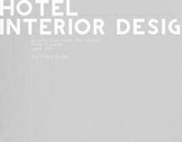 Pure Hotel interior concept.