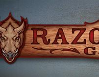 Razorback Guns - Logo + Signage
