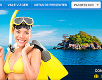 Ecommerce Website - CVC Viagens 2012