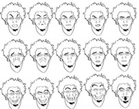 Some of Facial expressions