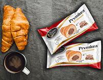 🇽🇰 Premium Bakery Premium Croissant - Packaging Design