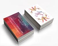 Natalia Koziróg make-up - illustrations & business card