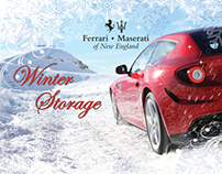 Winter Storage Postcards