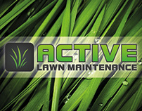 Active Lawn Maintenance - Brand Development