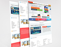 Projekt strony www ( website layout )