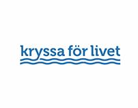 Logotype for Kryssa för livet (Cruise for life)