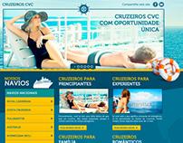 Proposta Hot Site Cruzeiros - CVC Viagens