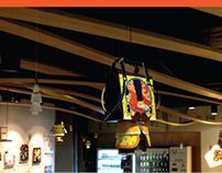 U-PLEX SHOPPING BAG Art Collaboration
