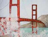 Golden Gate Bridge  |  Painting