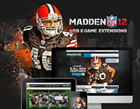 EA SPORTS MADDEN 12 – Mobile & Web Applications