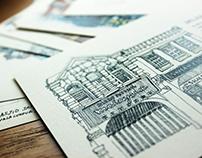Postcards /illustration/