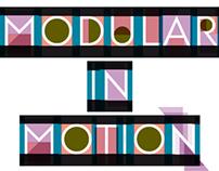 Modular in motion