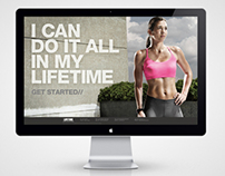 Life Time Fitness Online Sales Tool