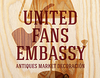 #unitedfansembassy #antiquesmarketdecora #thinjust.com
