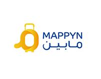 Mappyn _ مـــابين l mobile application logo