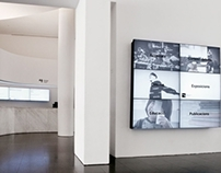 MACBA Digital Signage
