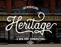 Heritage Font Combination