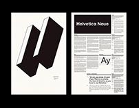 Helvetica Neue Type Specimen