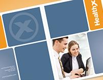 Freelance Design - Folder + Business Card for HealthX