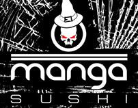 Halloween poster for Manga Sushi.