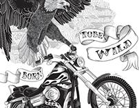 Poster. Bike Fest