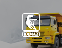 Website design KAMAZ / UI/UX / landing page / webdesign