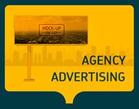 Agency advertising