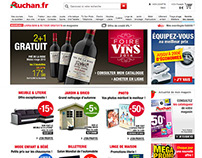 Auchan eCommerce - Home Page