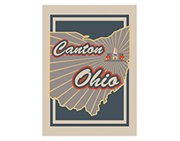 Ohio City Illustrations