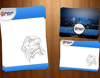 Falcon ANPR Stationery design