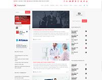 Blog Dual Sidebars Page - Employment WordPress Theme