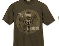 Hunting Club T-shirt design