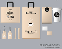 Collection of branding identity