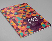 Colorful Pattern Circles Brochure