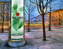 AHEAD OF THE TIMES: Bacardi