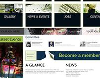 IBiA - Web layout