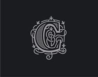 Logos in heraldic style
