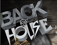 Cartel Concierto Back to House