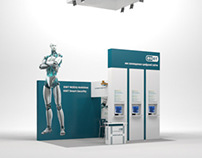 "Booth design for ""Eset"""